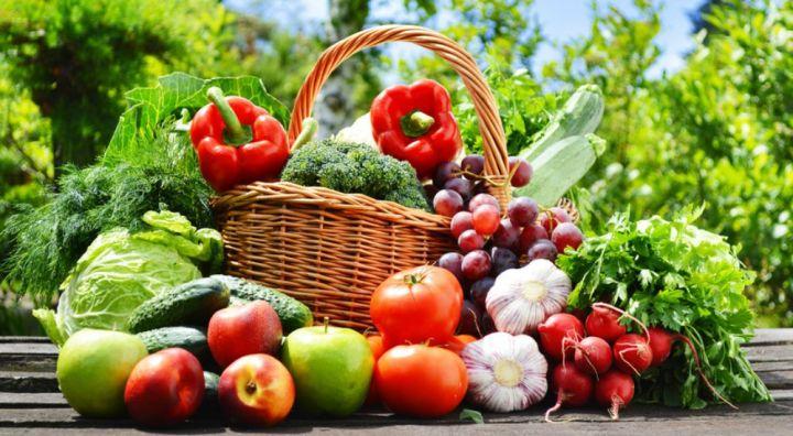 fruits et légumes juillet