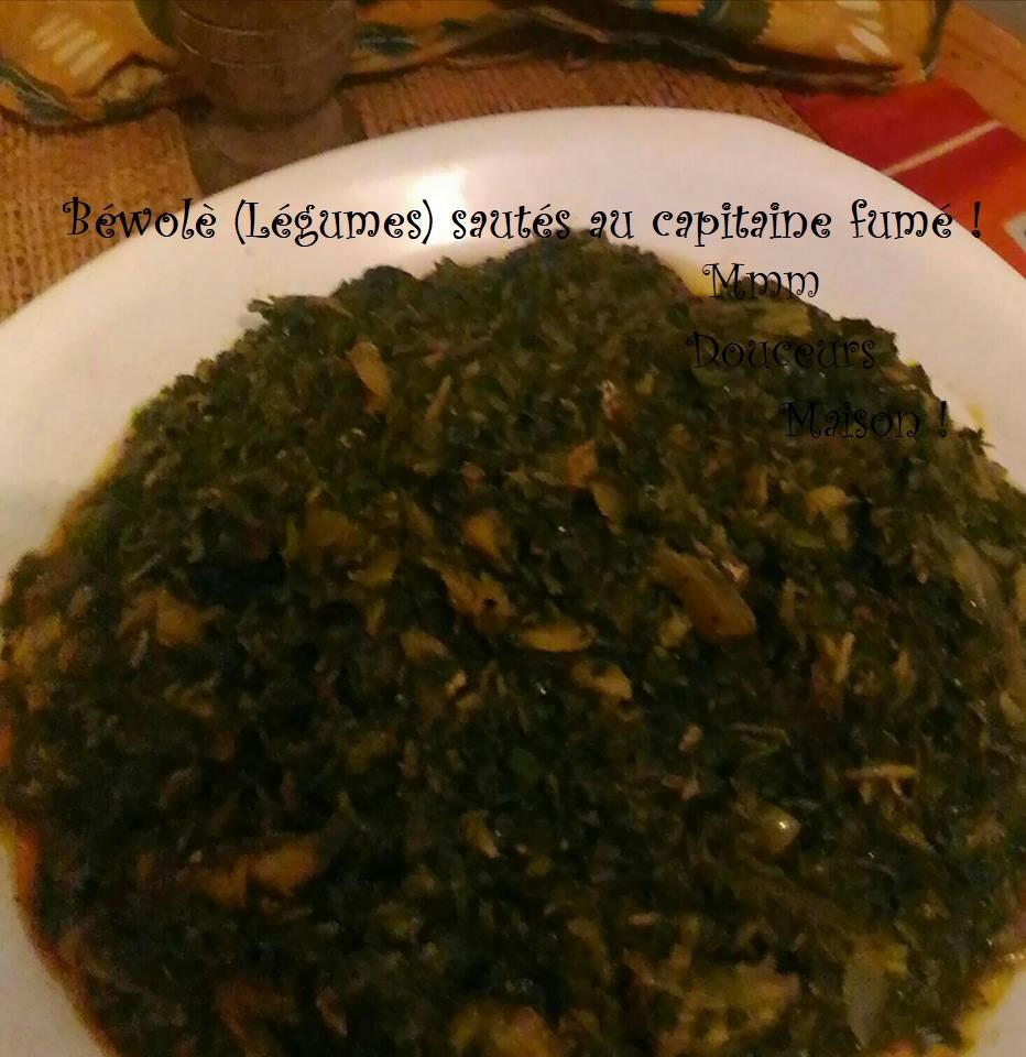 Bewole Legumes Sautes Au Capitaine Fume Mmmdouceursmaison Com