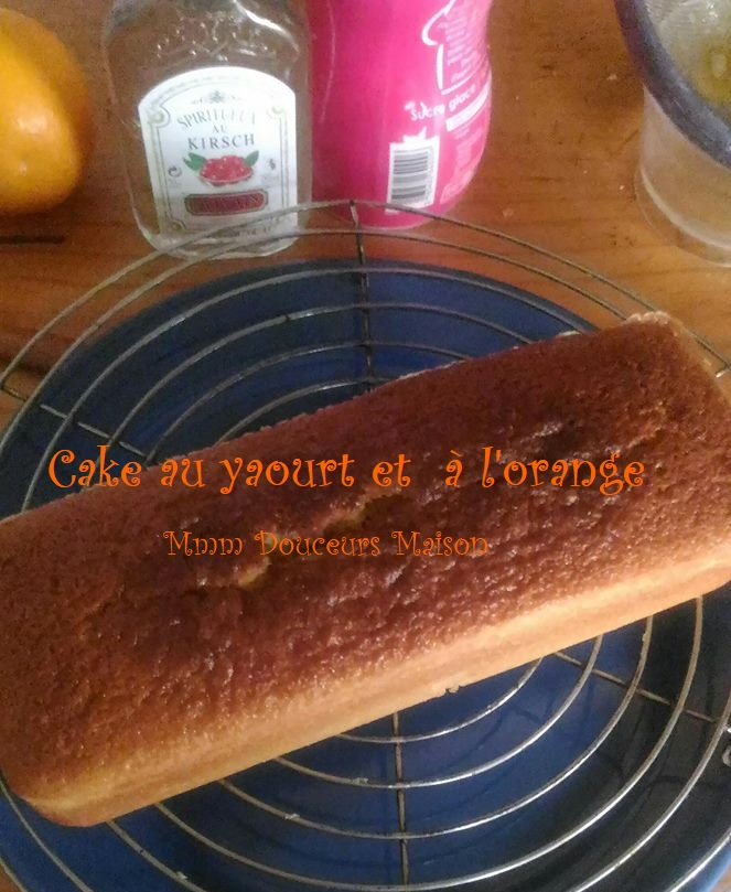cake au yaourt et à l'orange 3