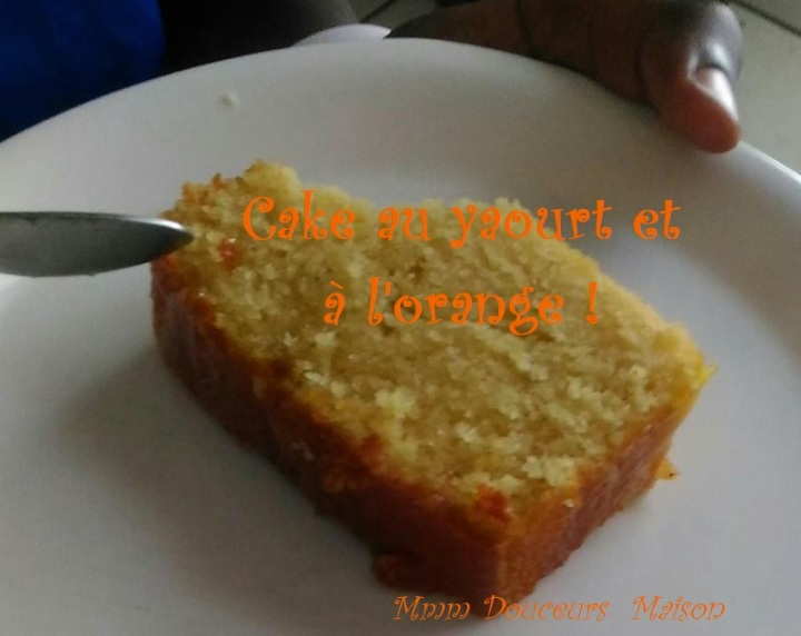 cake au yaourt et à l'orange 8