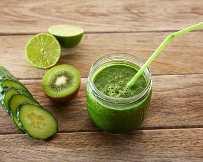 smoothie conconbre kiwi