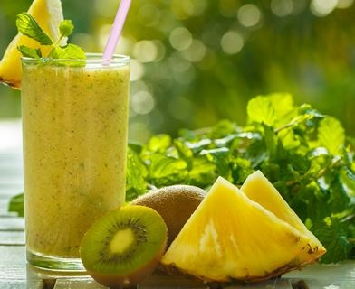 smoothie kiwi ananas