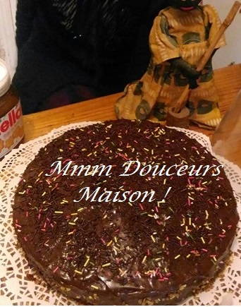 gâteau choco nutella 1