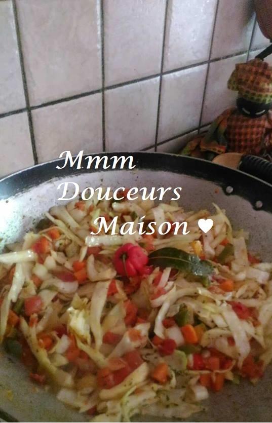 Chou sauté aux légumes 8