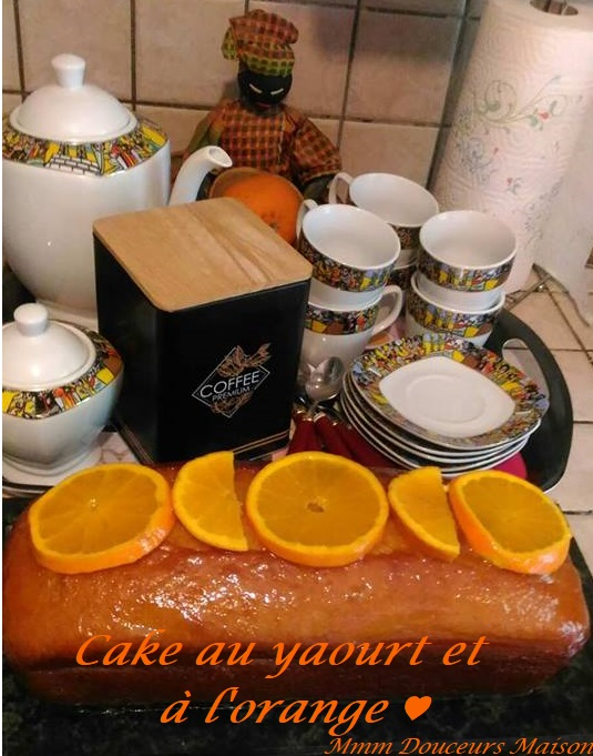 Cake au yaourt et àl 'orange