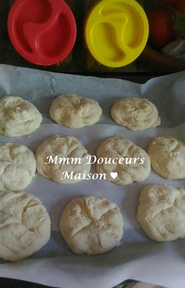petits pains sans pétrissage à l'huile d'olive