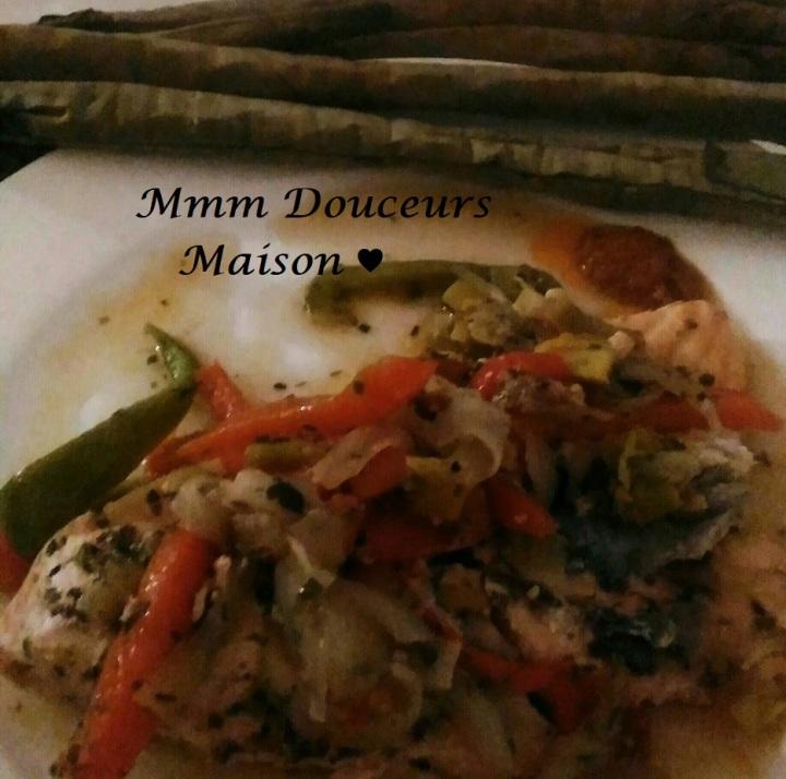 Saumon aux légumes 2 - Copie