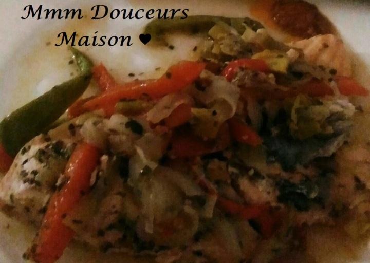 Saumon aux légumes 2