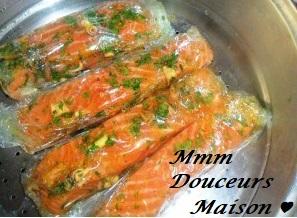 Saumon aux légumes 3